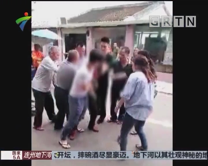深圳:儿子打母亲惹众怒 亲戚邻居合力制止
