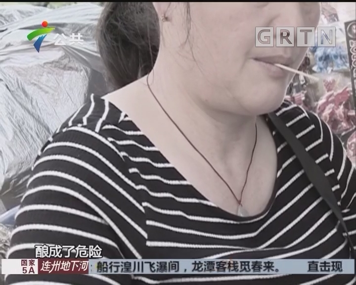 女子喝茶叼牙签 误吞下肚险穿孔