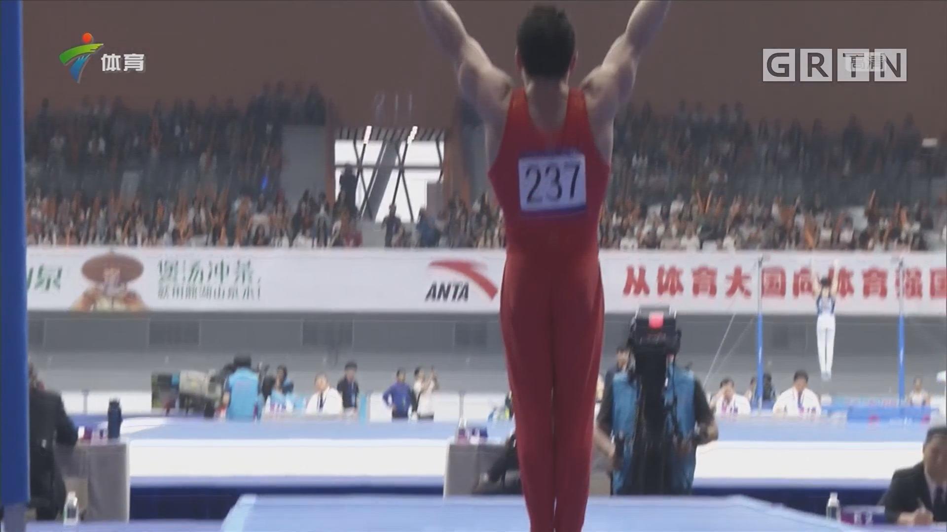 体操男队 竞争激烈