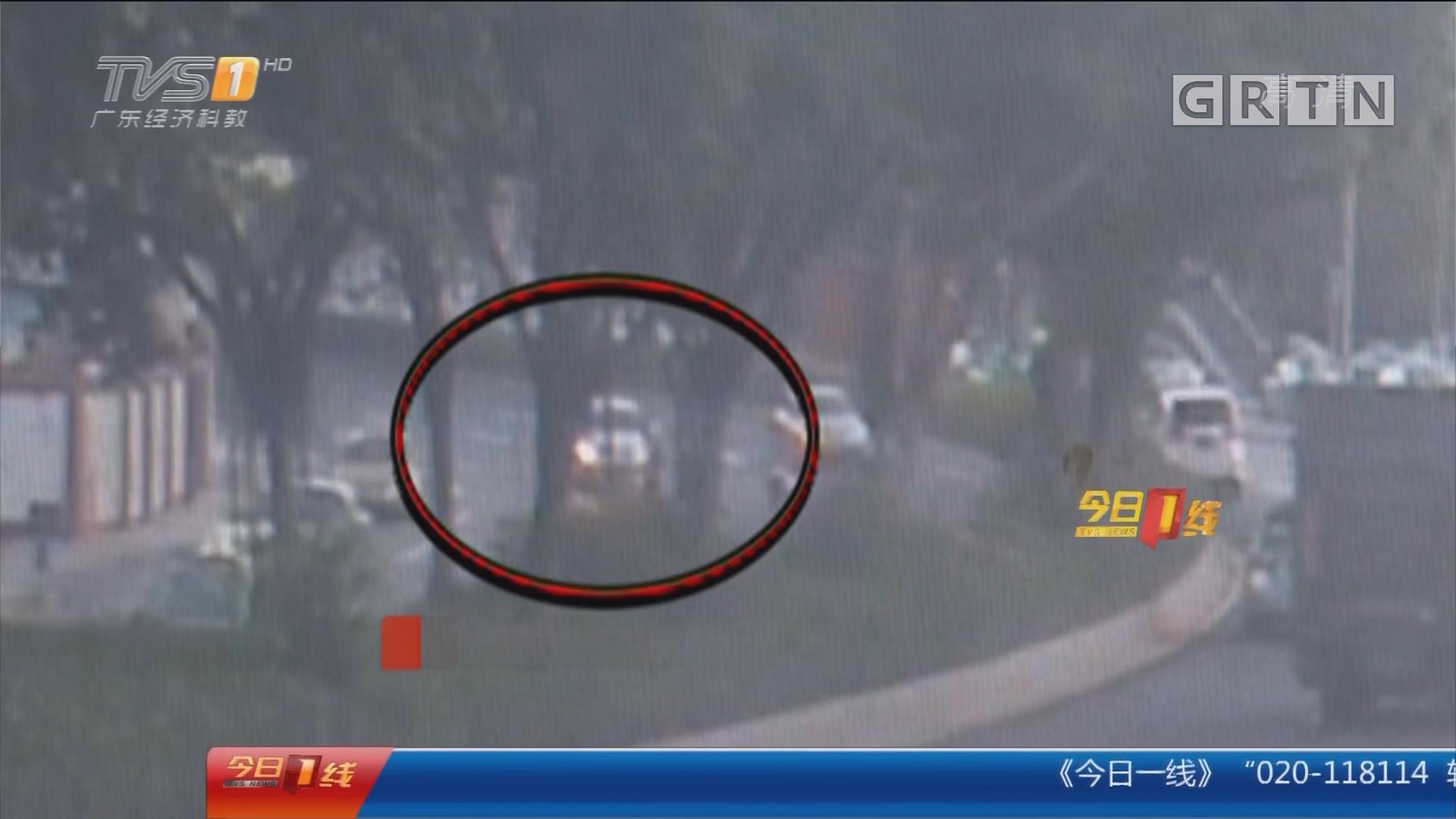 广州天河区:乱穿马路被撞 肇事者逃逸四小时落网