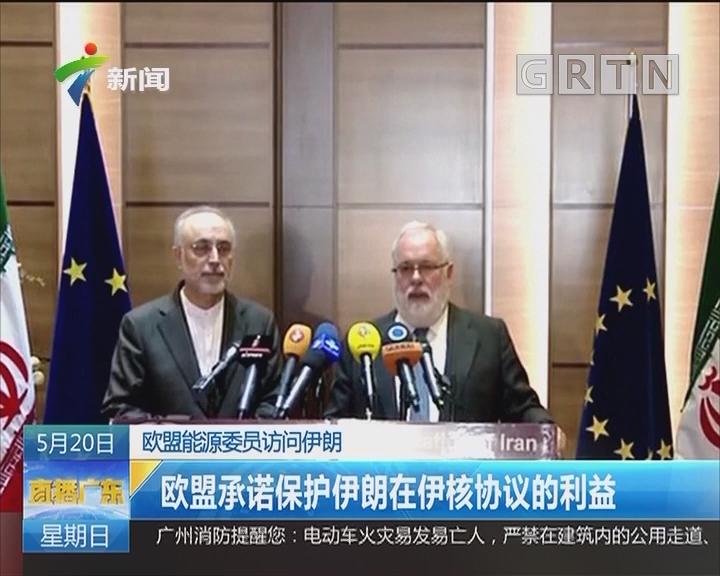 欧盟能源委员访问伊朗:欧盟承诺保护伊朗在伊核协议的利益