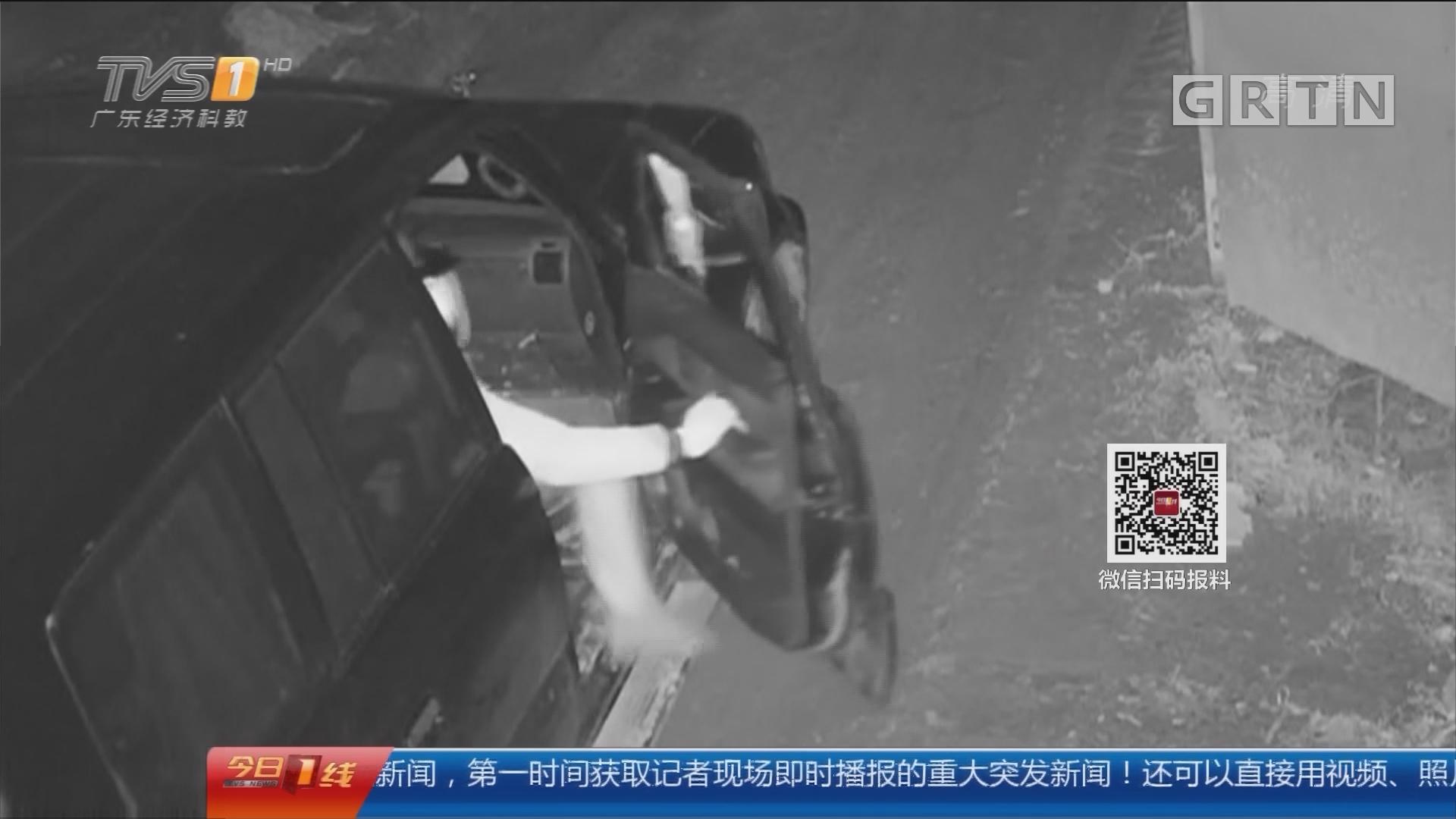 广州:团伙一晚盗油万升 三地警方联合抓捕