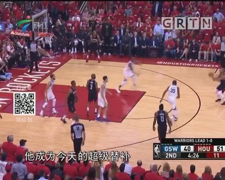 NBA:火箭团队给力 主场大胜勇士