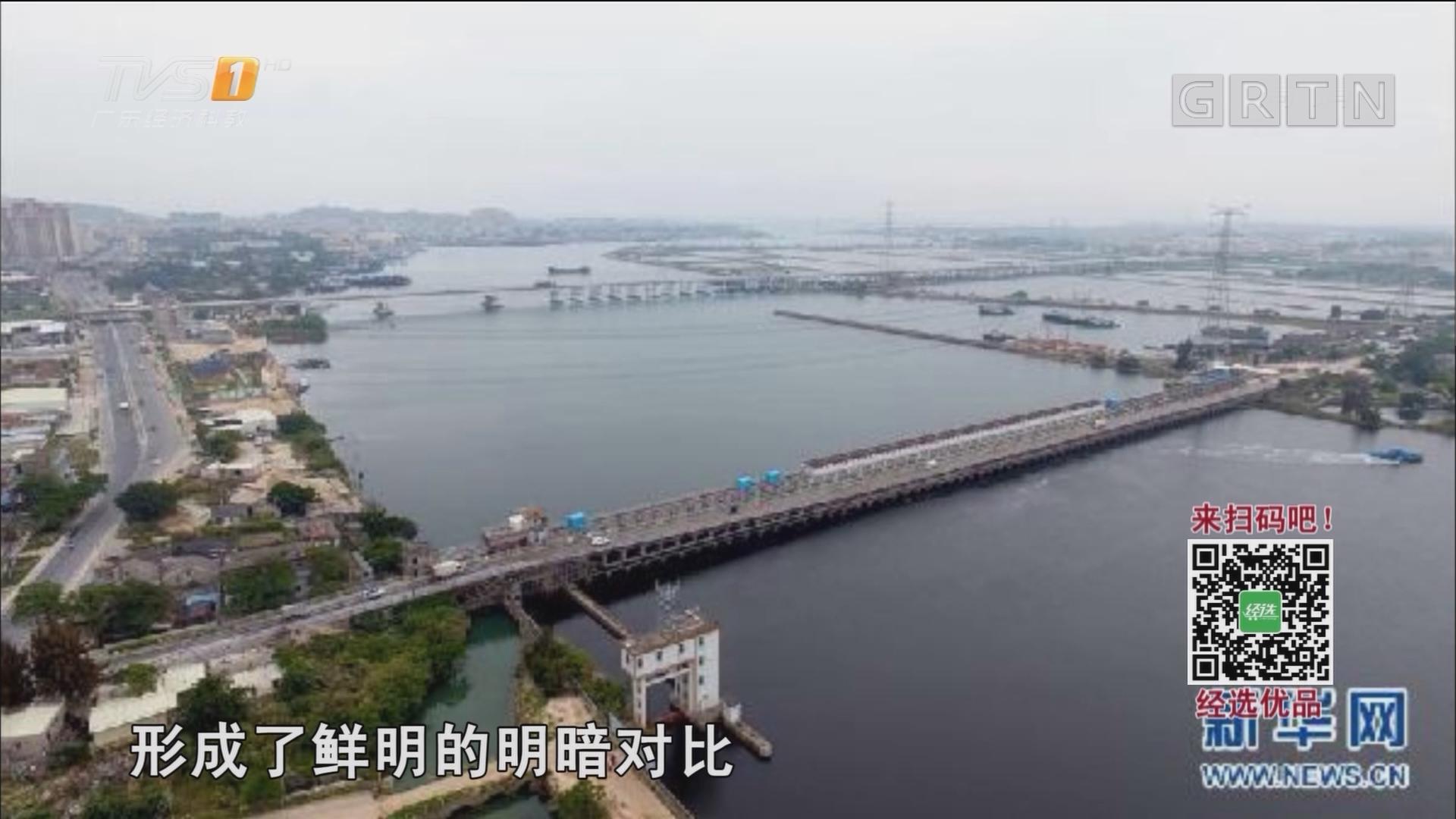 """""""白练""""变""""黑龙"""" 江河变""""草原""""——粤东母亲河为何污染20多年"""