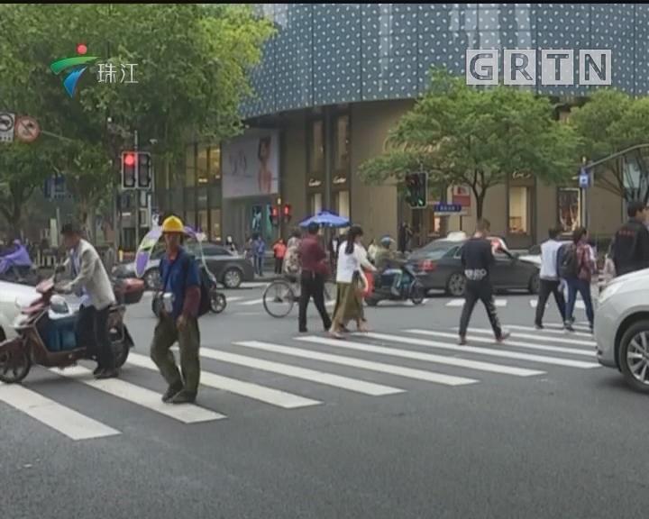 上海:部分路口推行行人过街专用相位