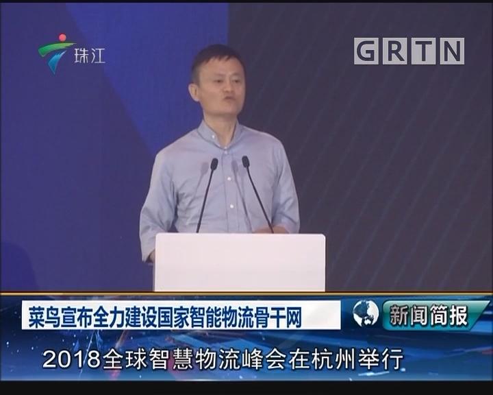 菜鸟宣布全力建设国家智能物流骨干网
