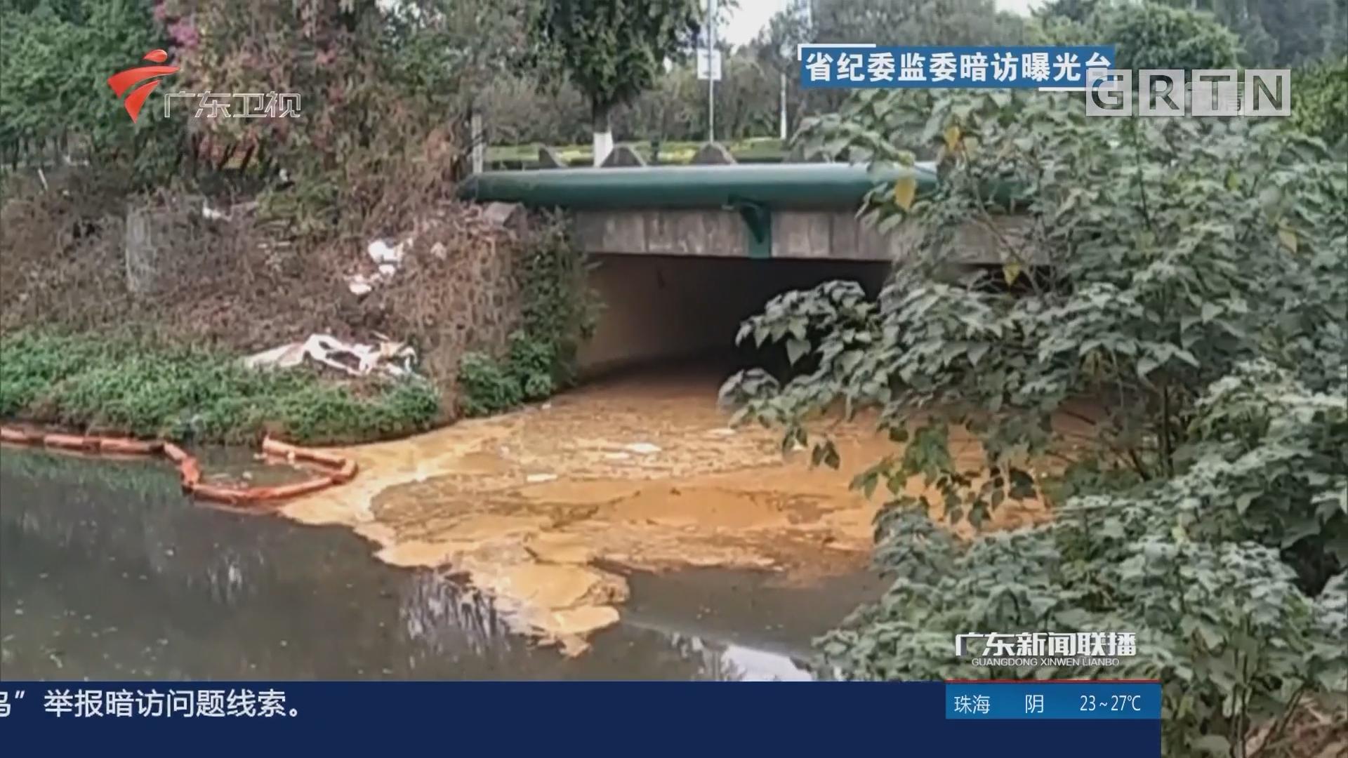 佛山南海:河涌污染重治理差 河长调门高行动少