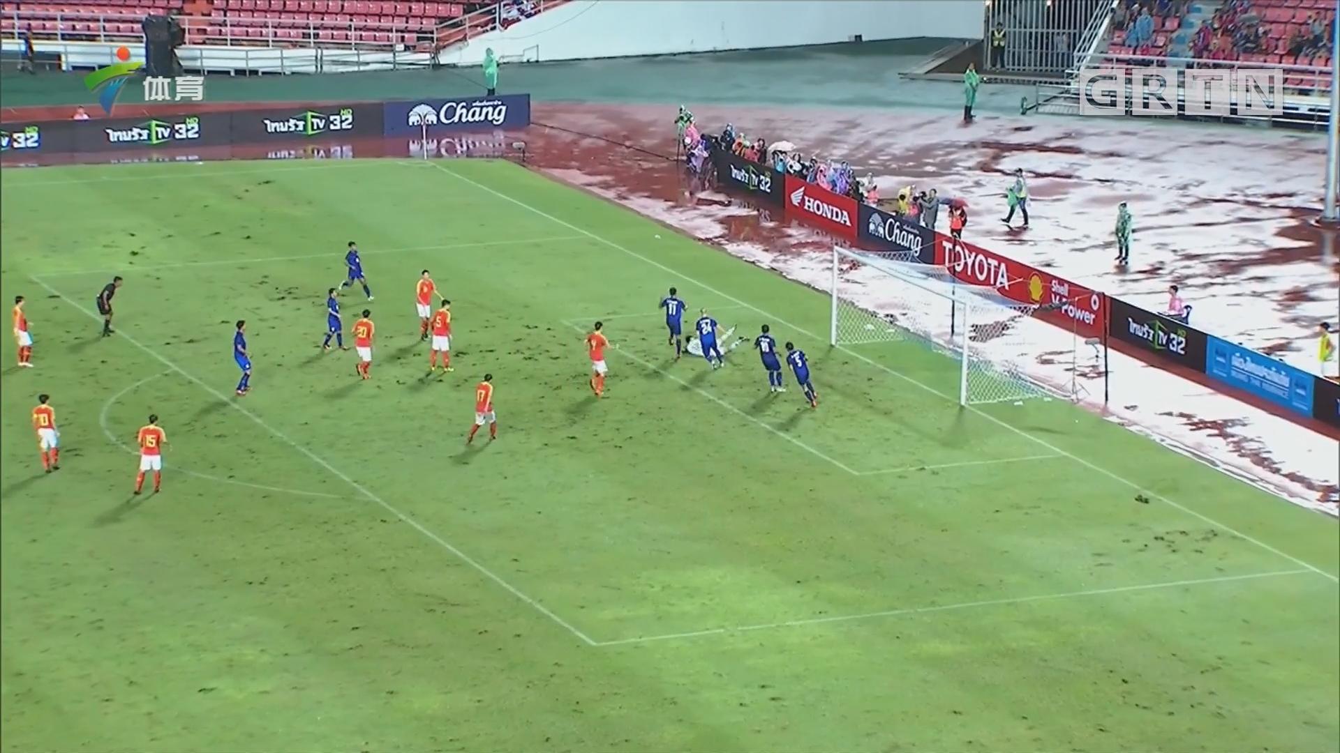 武磊梅开二度 中国男足客场战胜泰国
