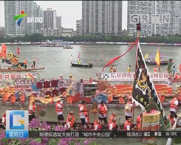 广州国际龙舟邀请赛:龙腾珠江展风采 百舸竟渡耀广州