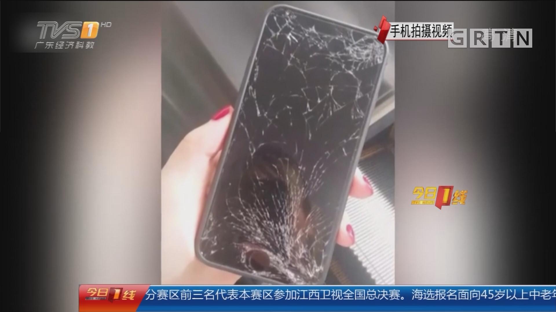 宁波:索要两千报酬不成 大妈竟摔失主手机