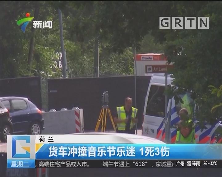 荷兰:货车冲撞音乐节乐迷 1死3伤