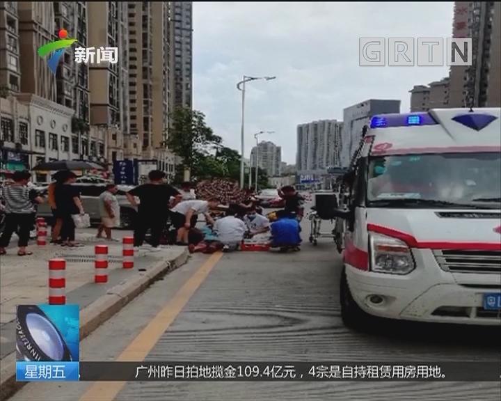 惠州:天上掉下一只虫 街坊被咬竟晕倒