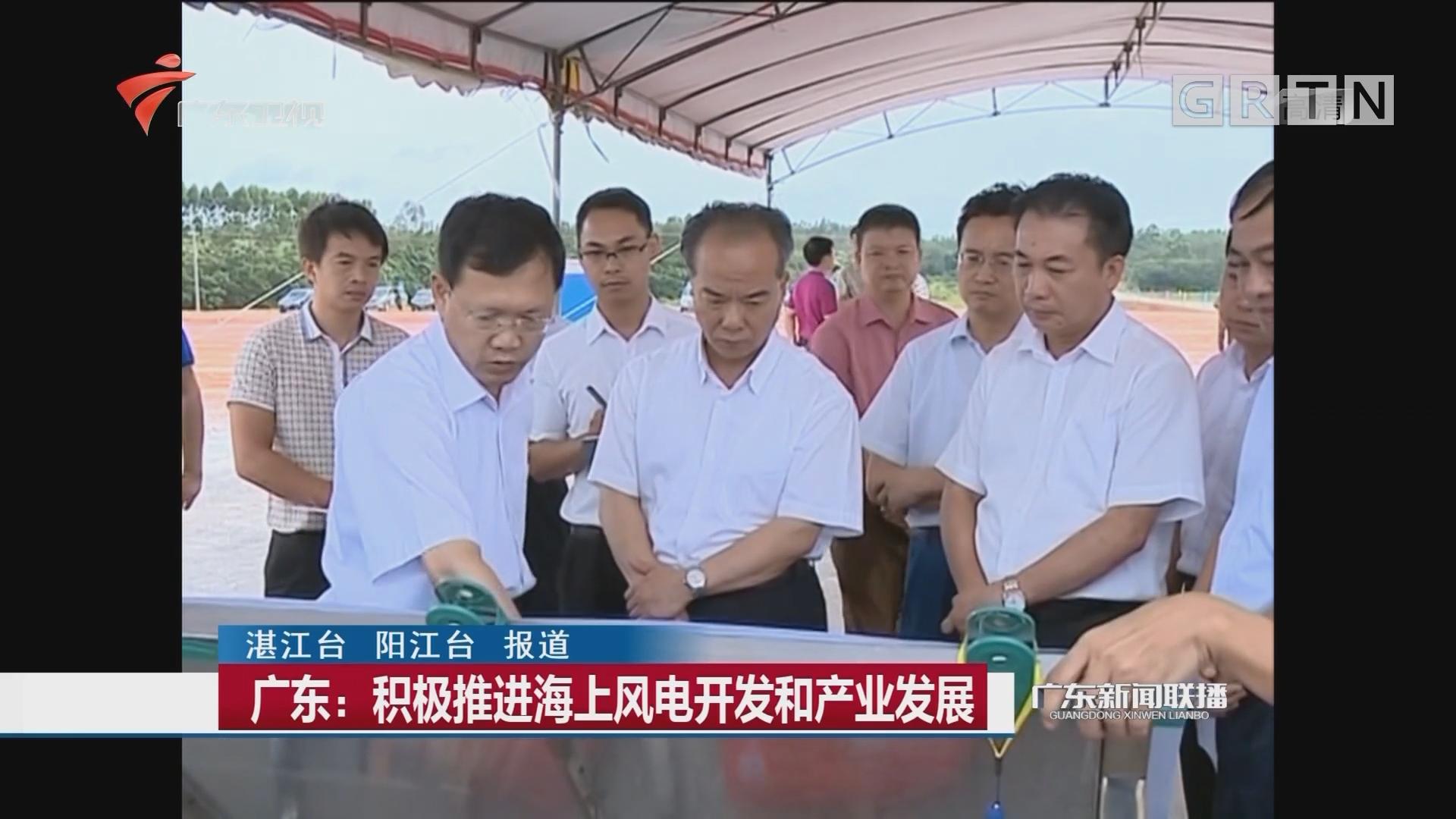 广东:积极推进海上风电开发和产业发展