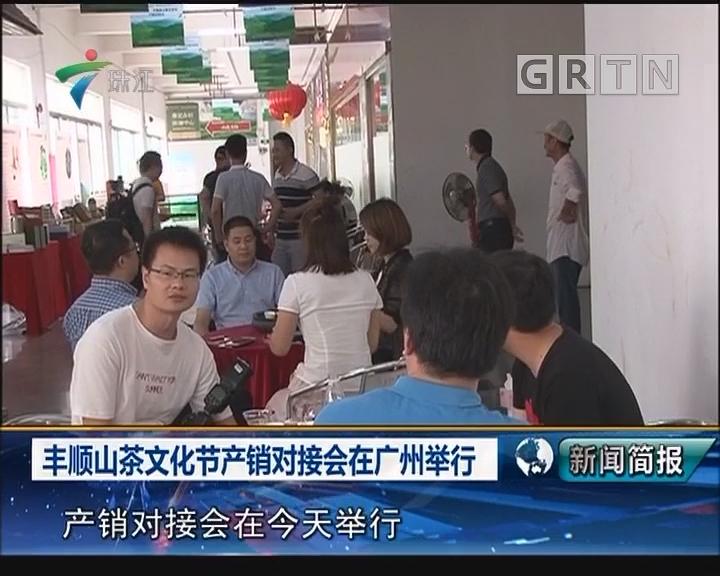 丰顺山茶文化节产销对接会在广州举行