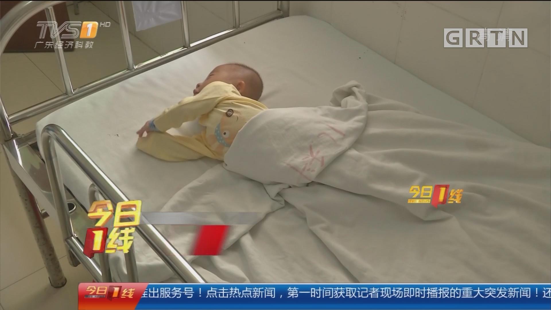 汕尾:半岁大婴儿被弃路旁 热心街坊悉心照料