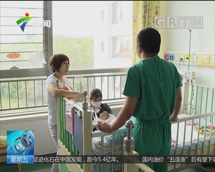 """""""苹果砸晕女婴""""追踪:被苹果砸伤女婴出院 恢复良好"""