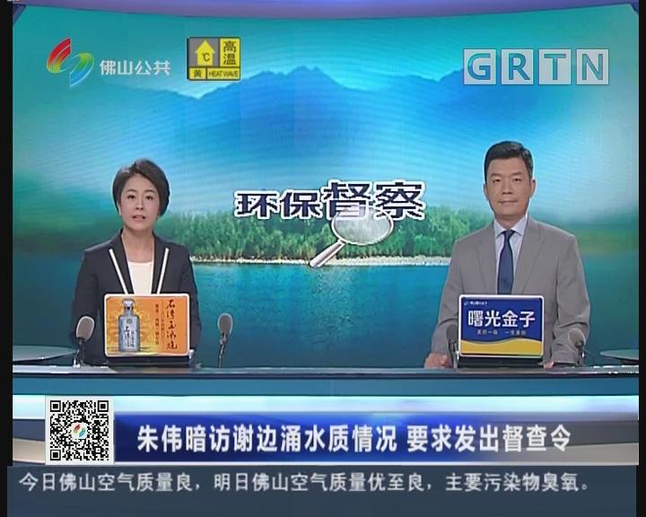 [2018-06-30]六点半新闻:朱伟暗访谢边涌水质情况 要求发出督查令