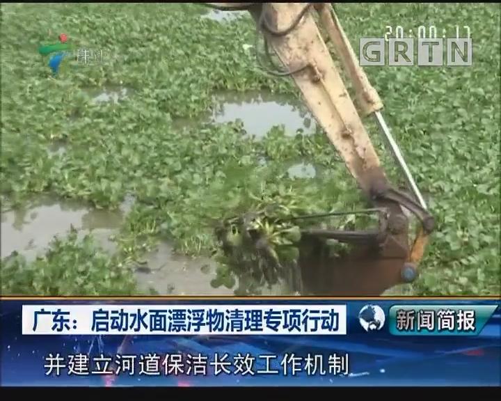 广东:启动水面漂浮物清理专项行动