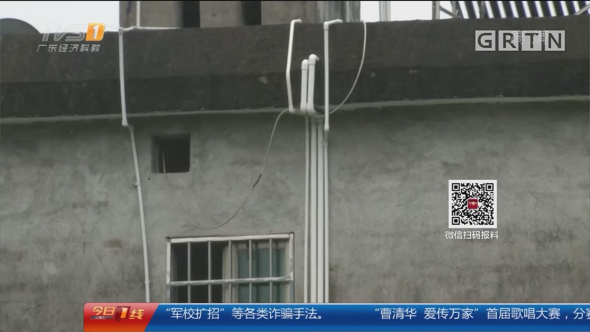 """闹心的""""惠民工程"""":惠州博罗 """"饮水工程""""建成半年就荒废 村民叫苦"""