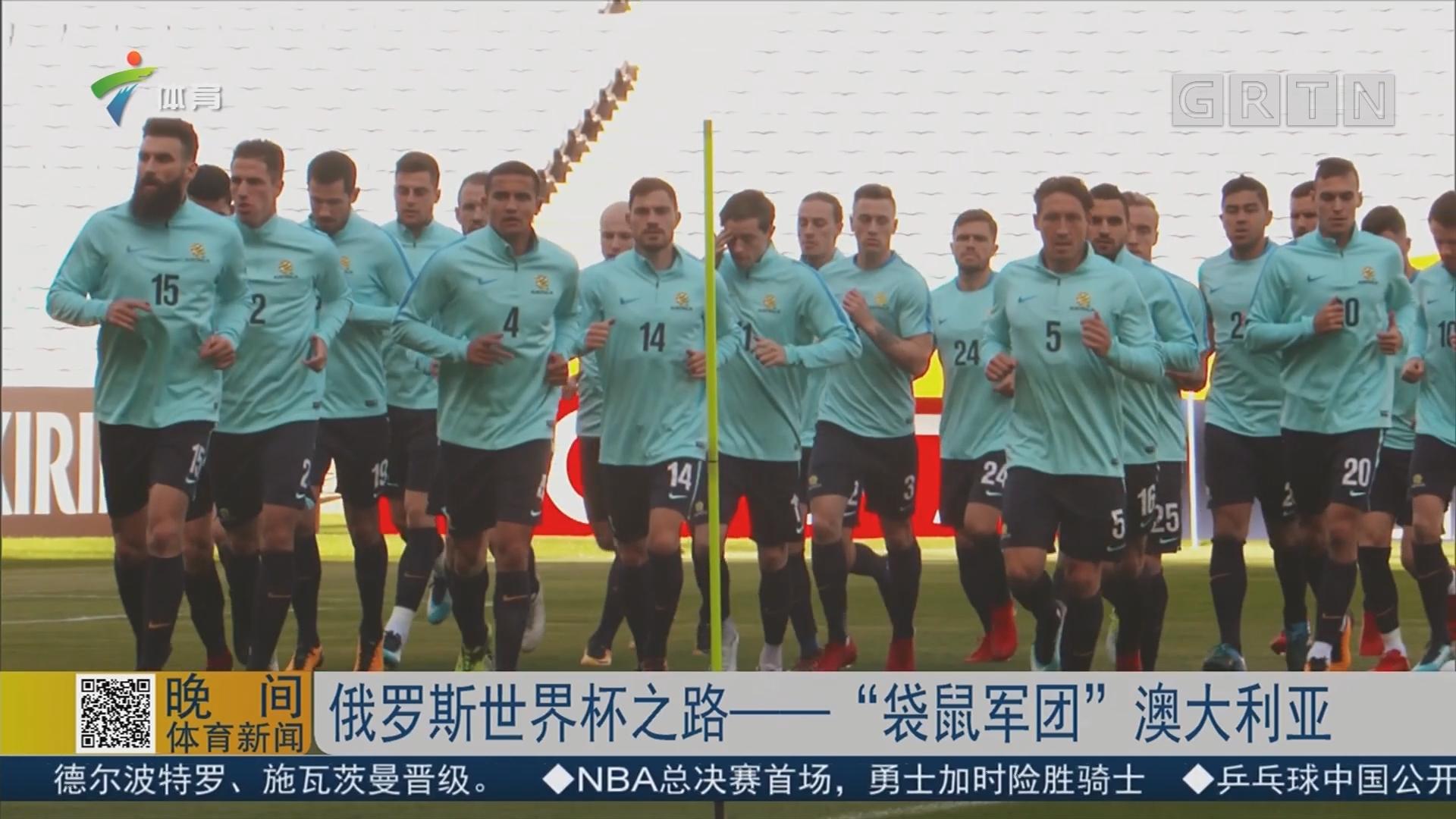 """俄罗斯世界杯之路——""""袋鼠军团""""澳大利亚"""
