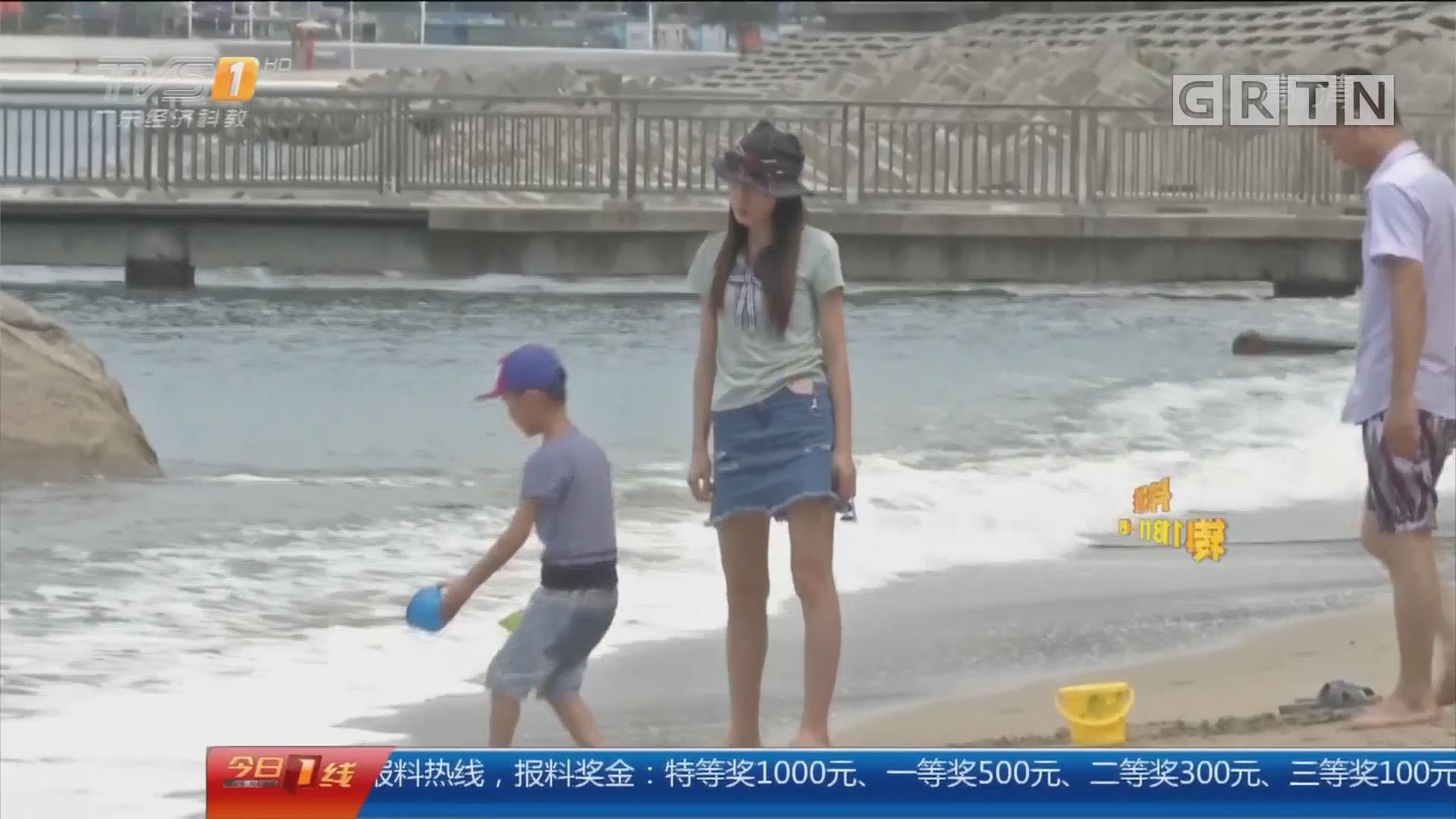 深圳大小梅沙:逢假必堵?今天通行很顺畅!