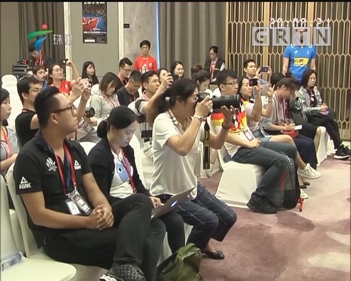 世联赛江门站:中国女排今晚迎战巴西