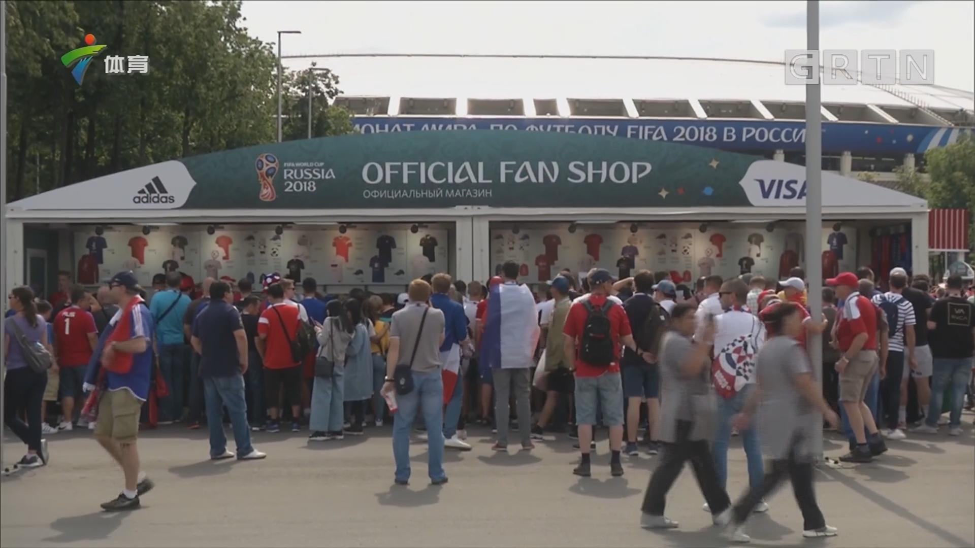 探秘世界杯官方商店