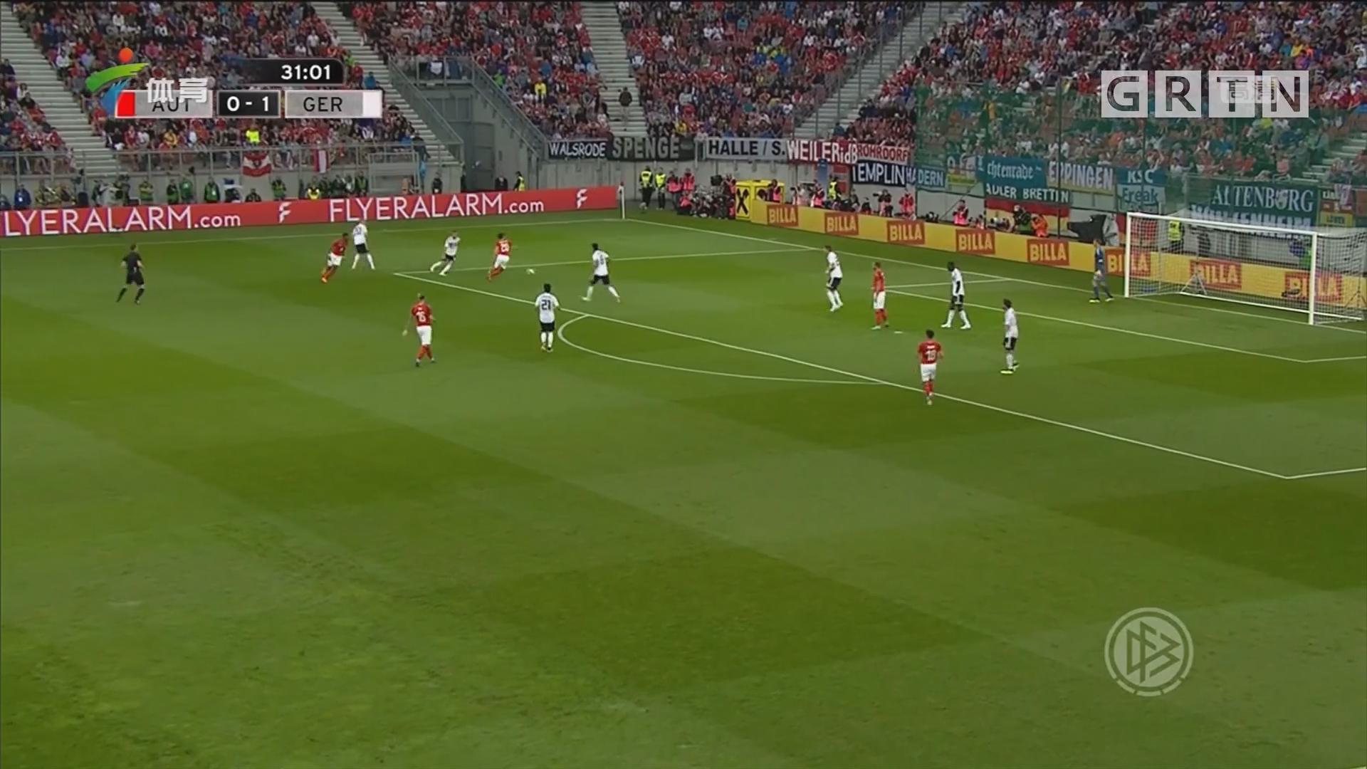 世界杯热身赛 德国遭遇逆转 五场不胜