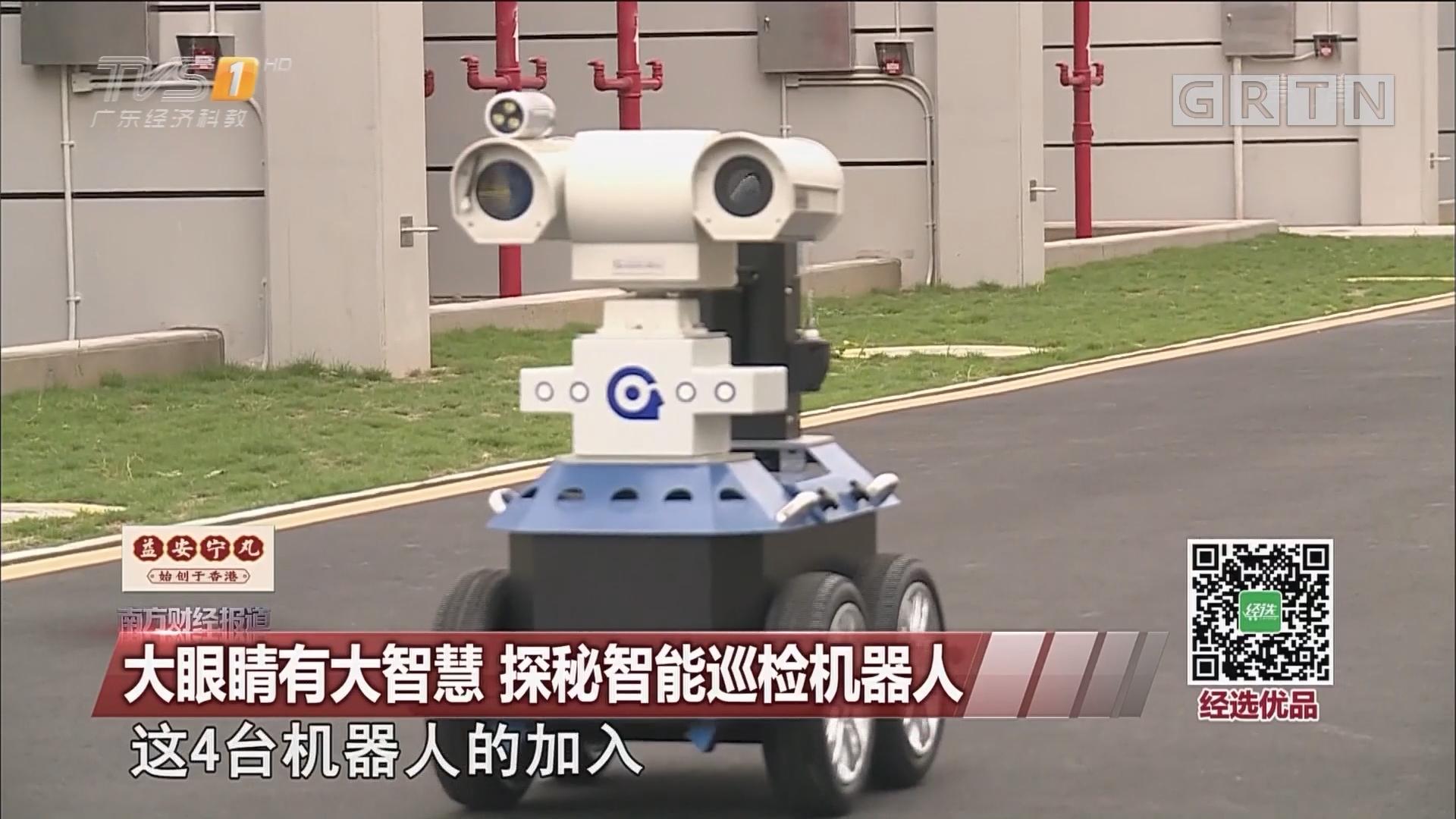 大眼睛有大智慧 探秘智能巡检机器人