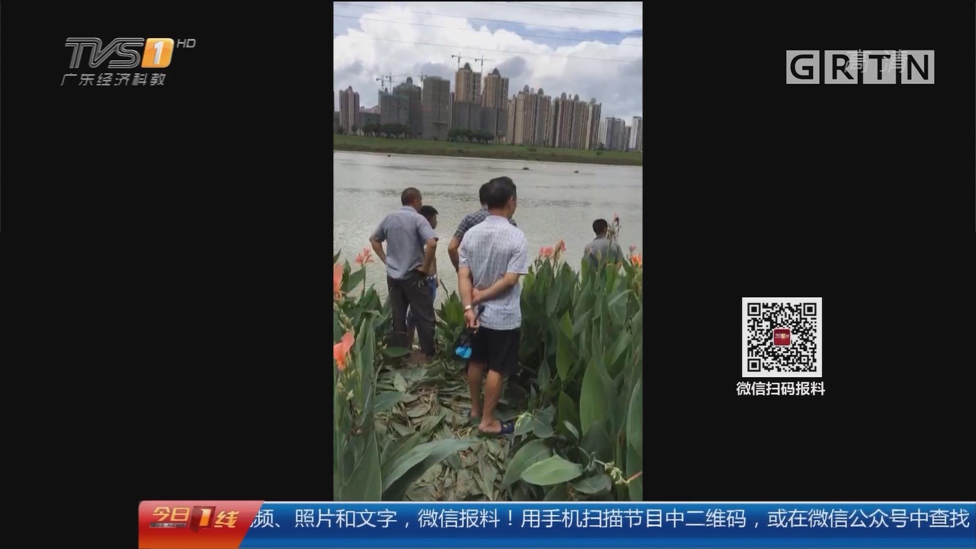 惠州惠城:江边照相不慎溺水 民警街坊齐救援