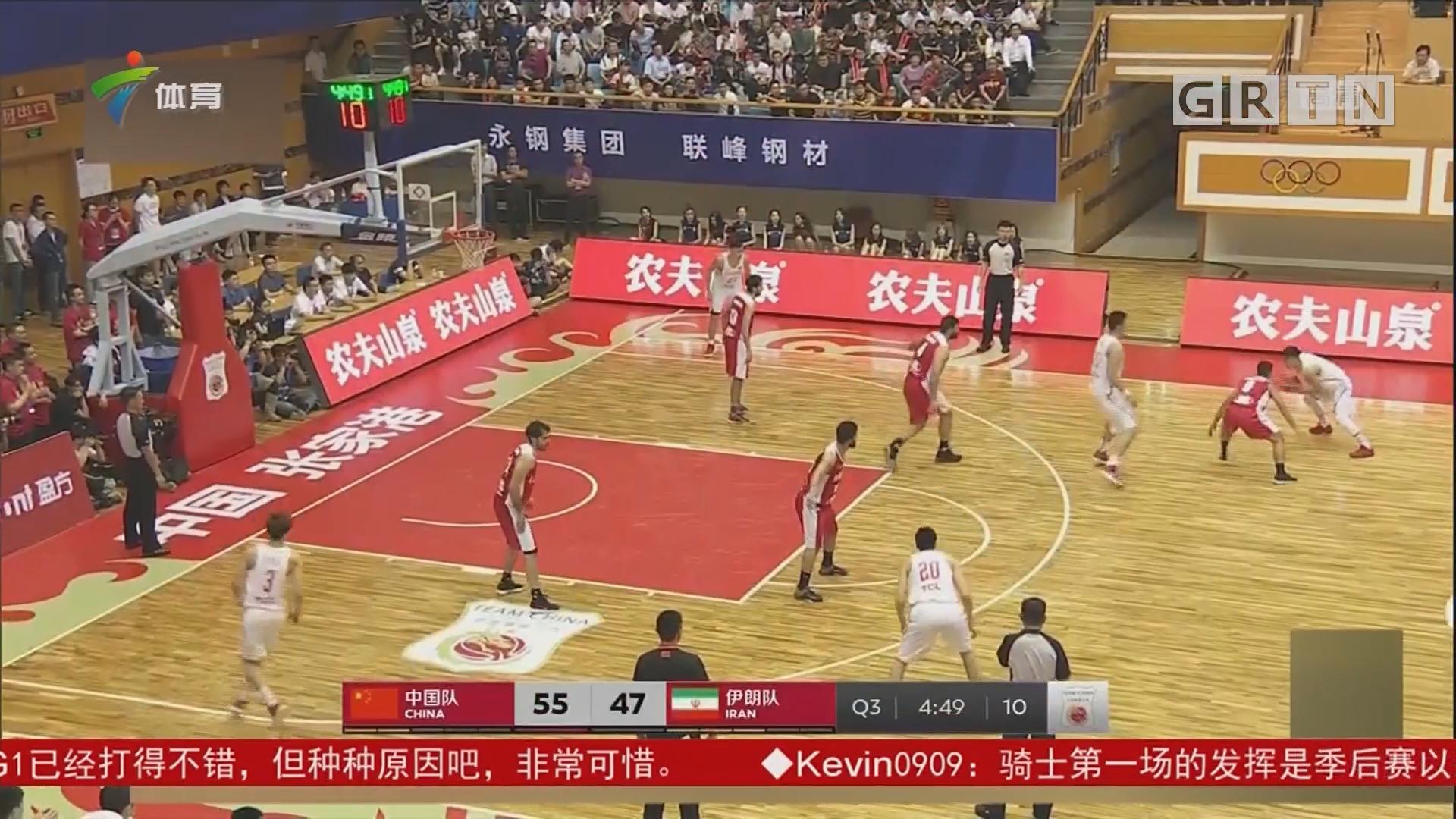 内线占优 中国男篮再胜伊朗