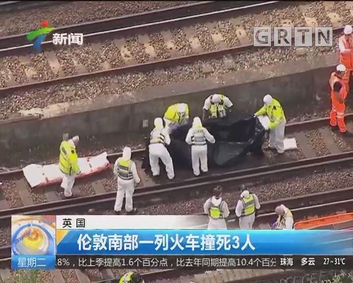 英国:伦敦南部一列火车撞死3人