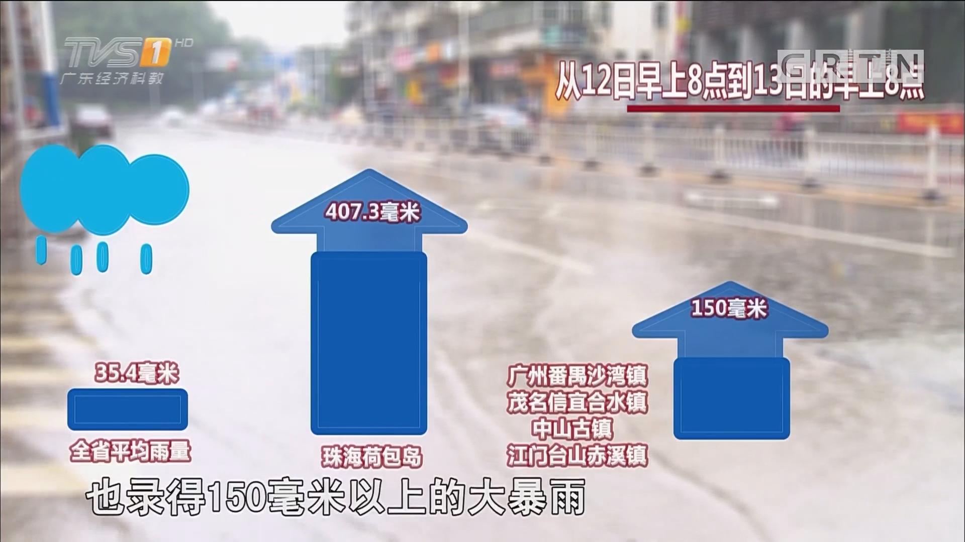 凶猛龙舟水来袭:雷暴雨大风再袭广东