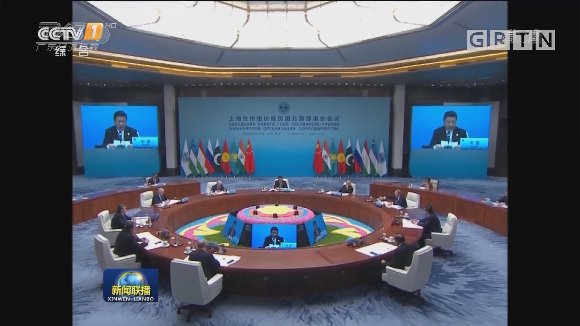 上海合作组织青岛峰会成果丰硕