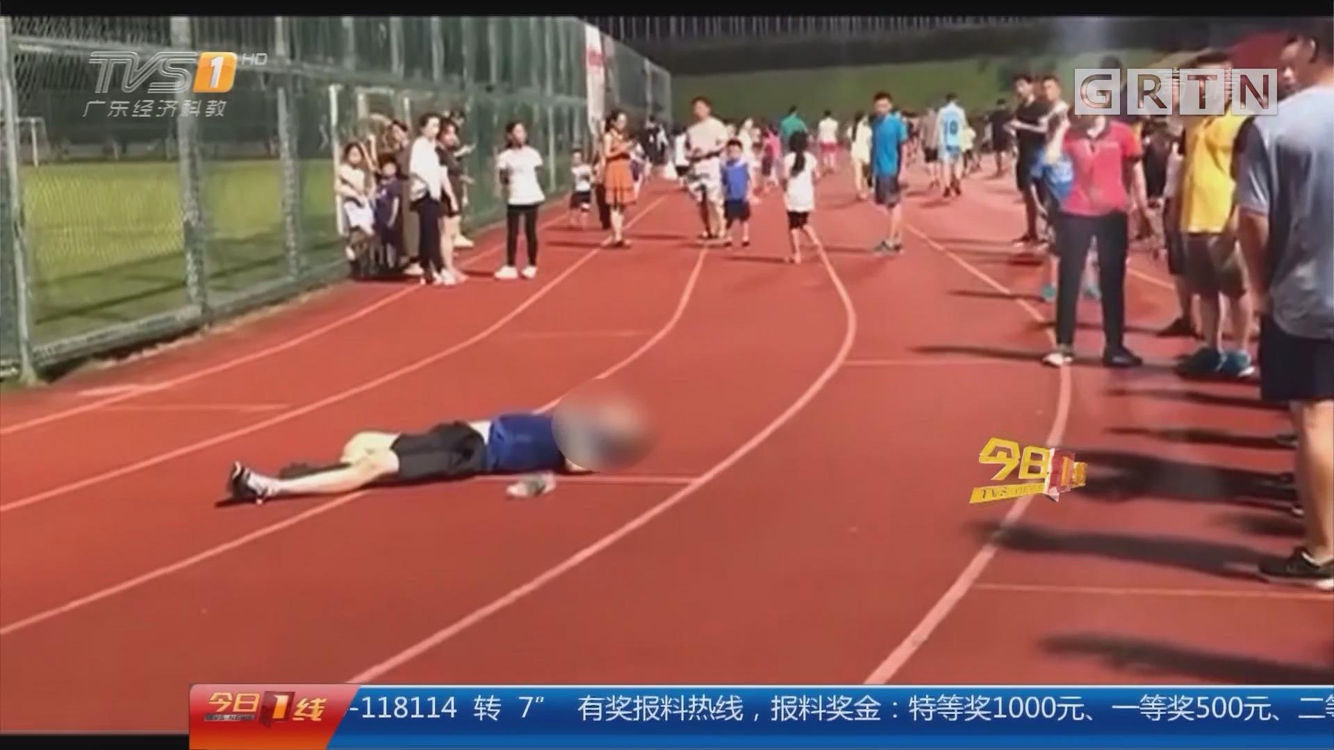 健身安全:男子跑步晕倒猝死 或因劳累过度