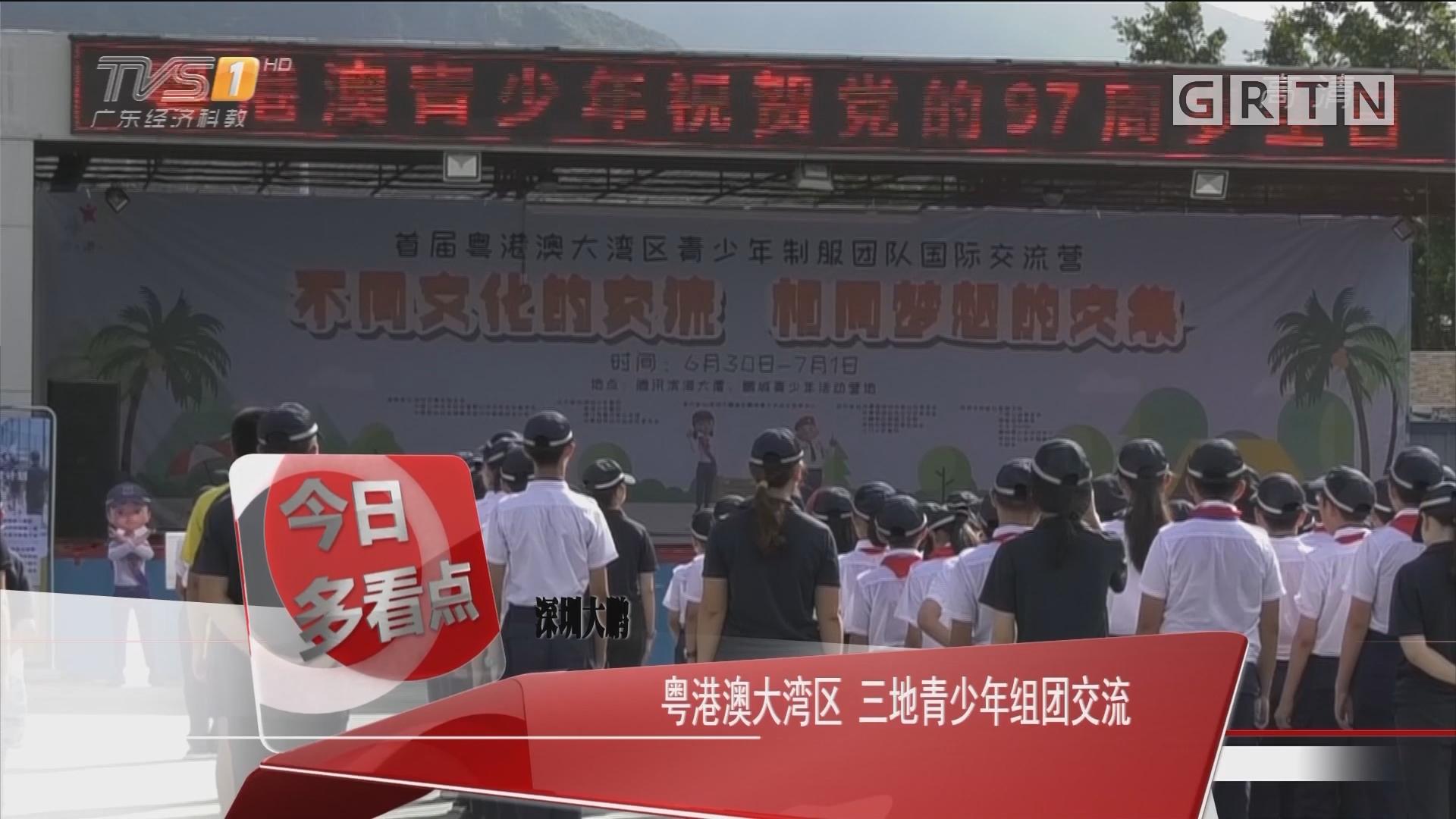 深圳大鹏:粤港澳大湾区 三地青少年组团交流
