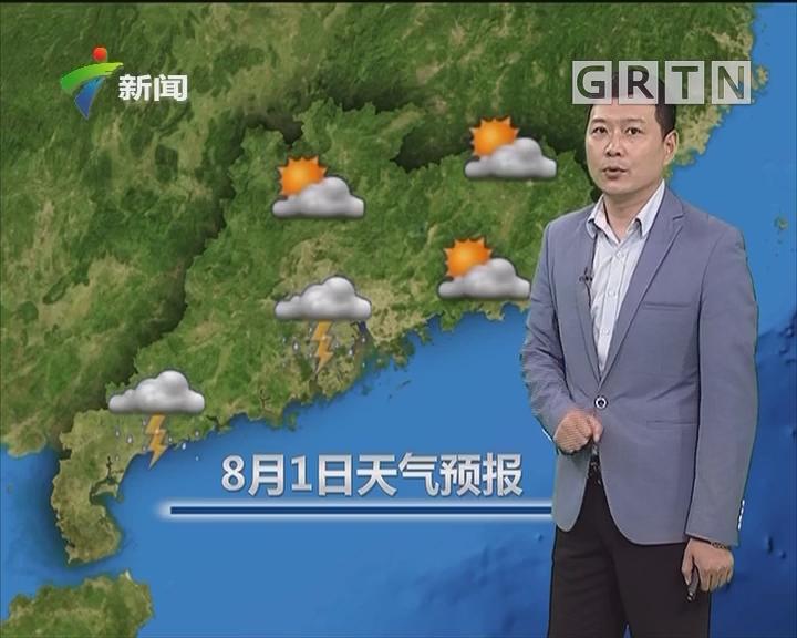 20180731天气预报
