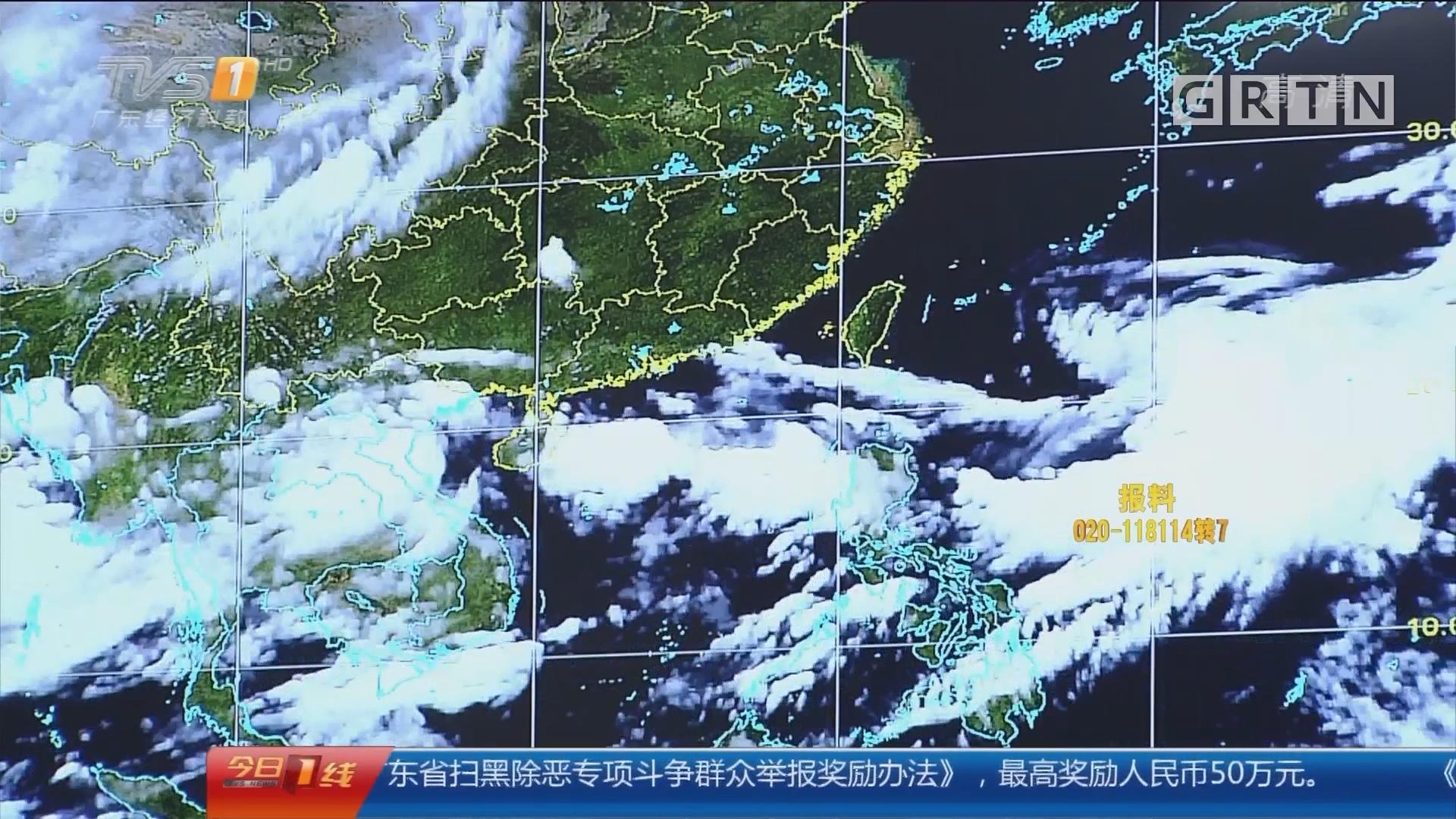 """天气:台风""""安比""""生成 艳丽晚霞红遍羊城"""