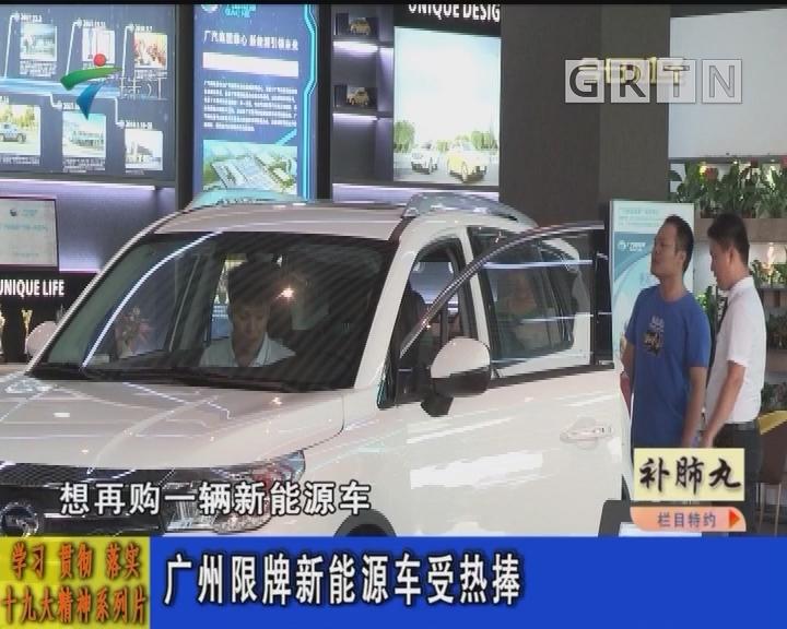 广州限牌新能源受热捧