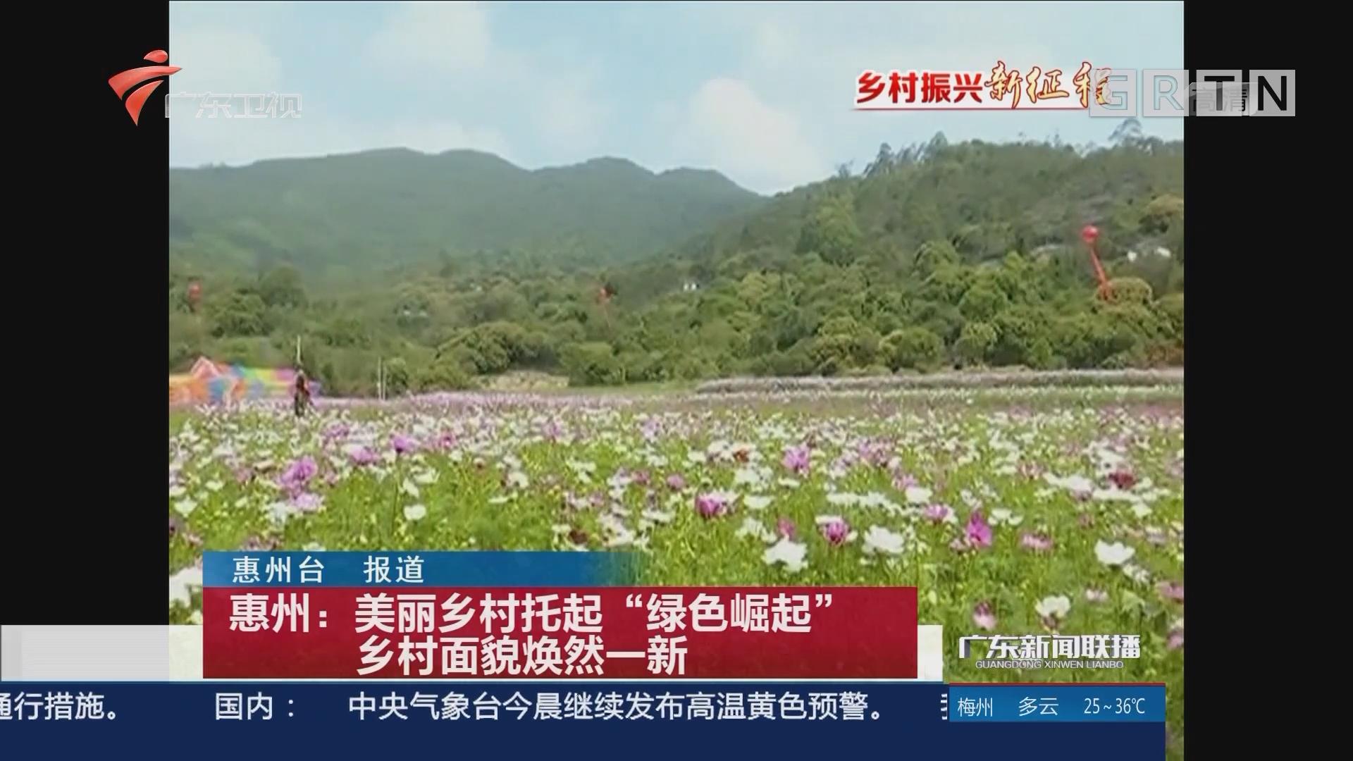"""惠州:美丽乡村托起""""绿色崛起"""" 乡村面貌焕然一新"""