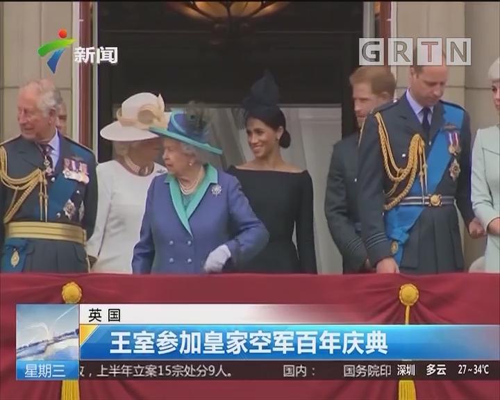 英国:王室参加皇家空军百年庆典