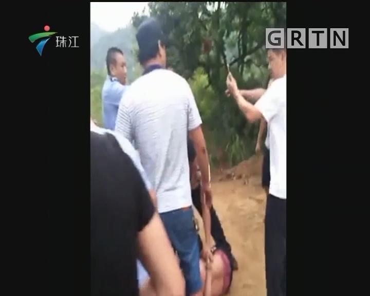 揭阳:求爱不成绑架女子 警察封山抓疑凶