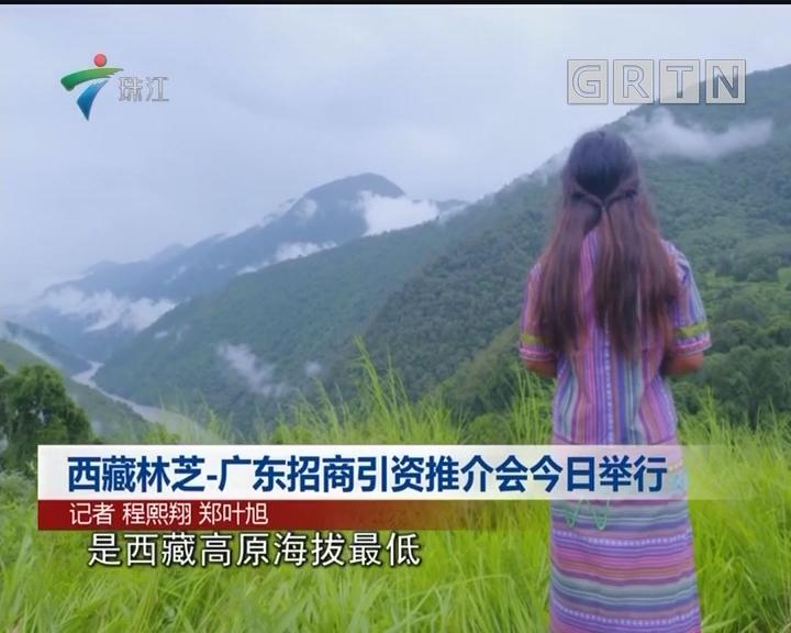 西藏林芝-广东招商引资推介会今日举行