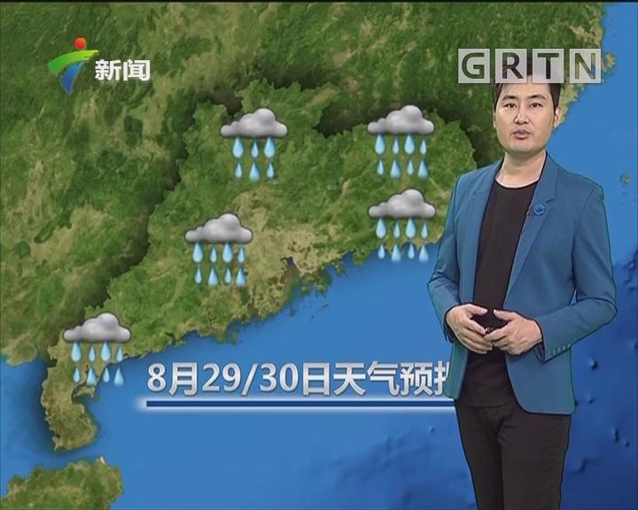 20180829天气预报