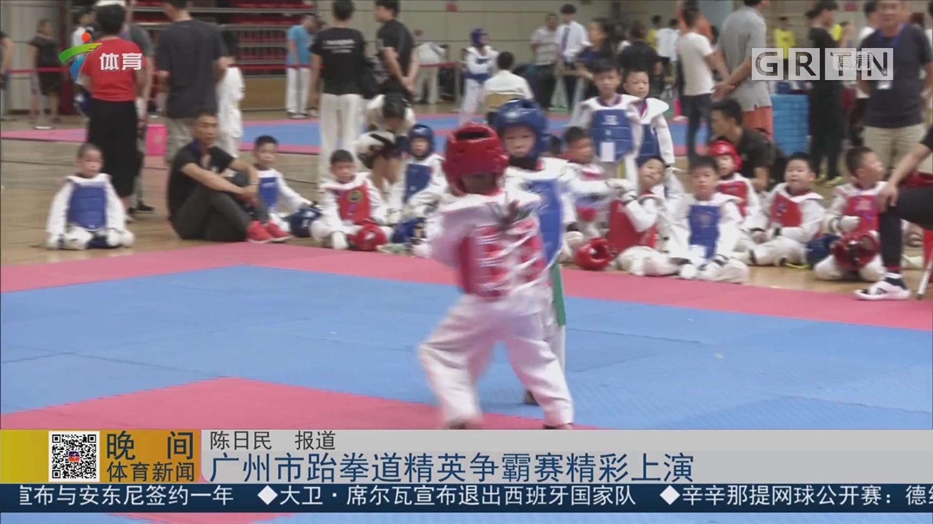 广州市跆拳道精英争霸赛精彩上演