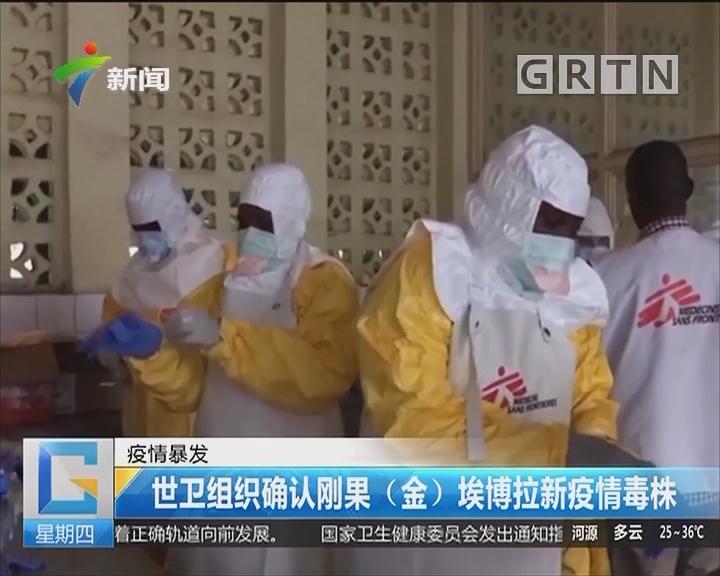 疫情暴发:世卫组织确认刚果(金)埃博拉新疫情毒株