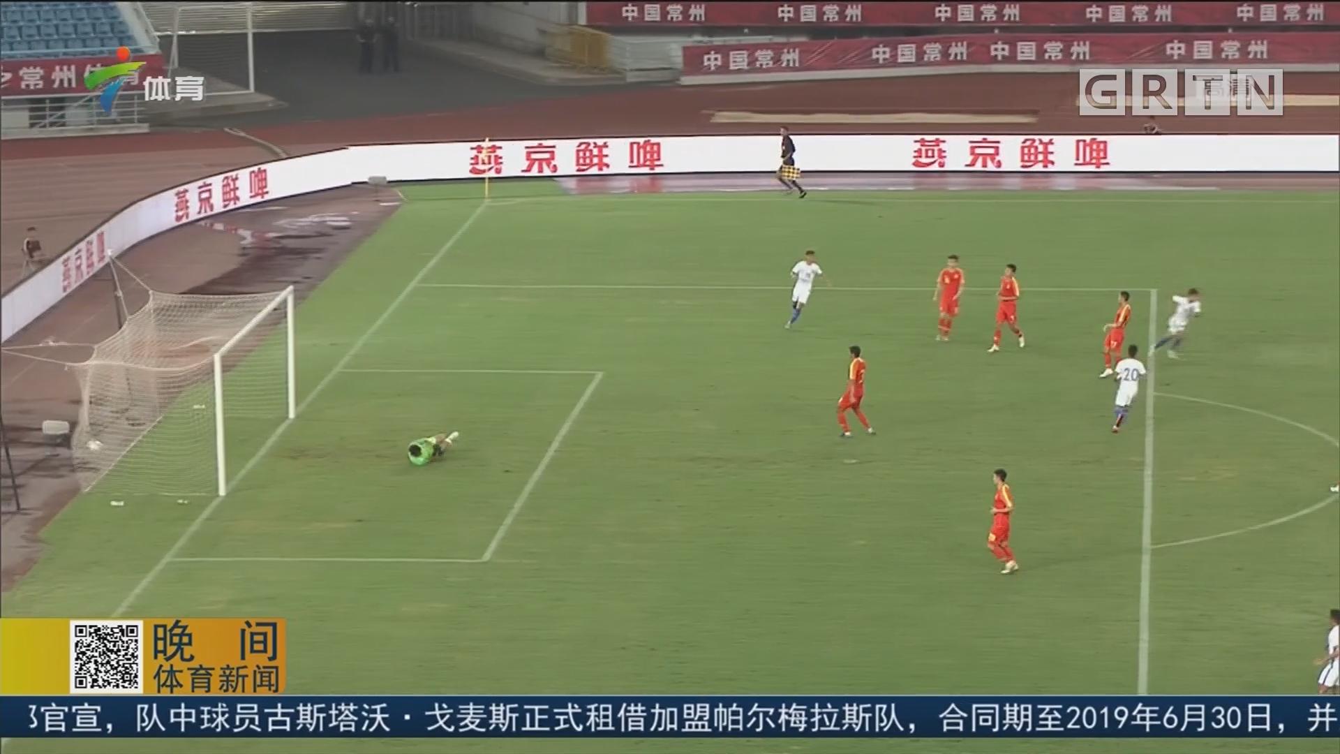 中國U23逆轉戰勝馬來西亞U23