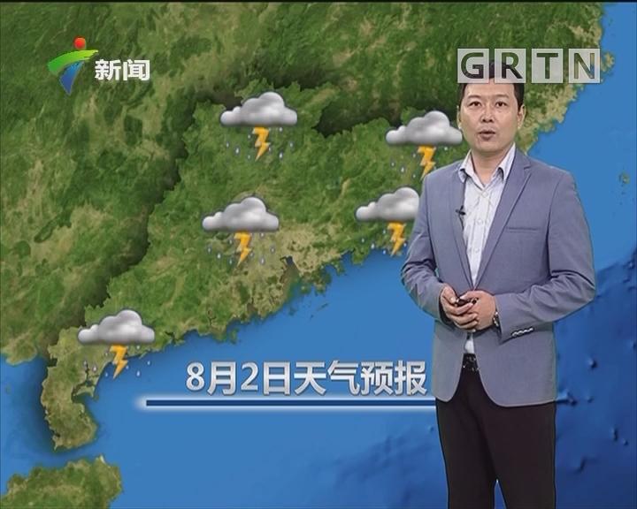 20180802天气预报