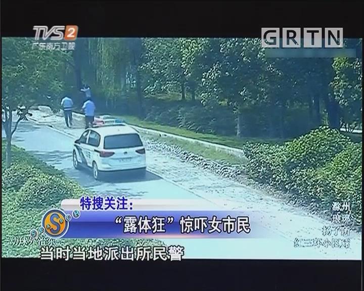 """""""露体狂""""惊吓女市民"""