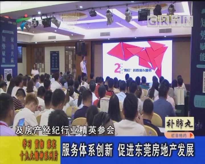 服务体系创新 促进东莞房地产发展